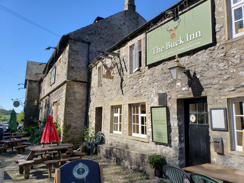 The Buck Inn, Malham. (Photo by Kirsten Koza, Writers' Expeditions)