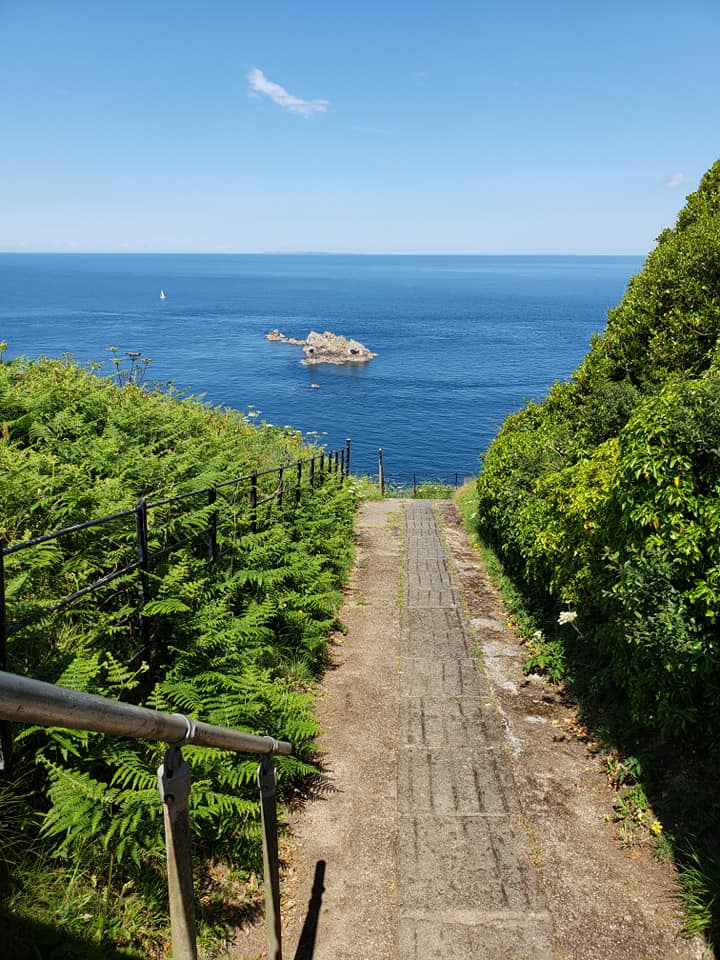 Sark path. (photo by Kirsten Koza)