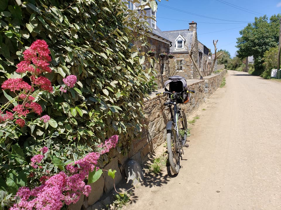 The bike rented by your host on her research trip in Sark. (photo by Kirsten Koza)